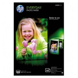 HP Pack de 100 Papier photo...