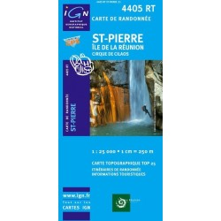 Carte 4405RT Saint-Pierre -...